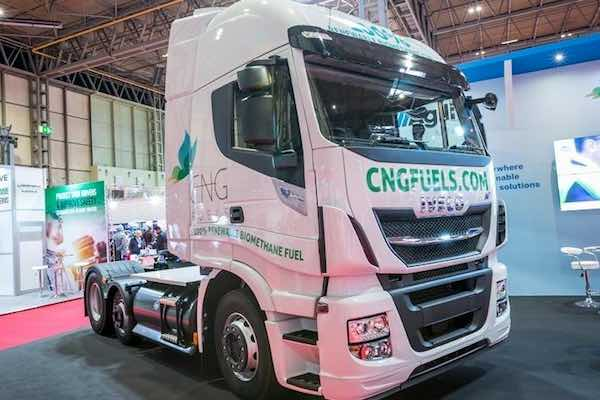 CNG Fuels IVECO Stralis NP 6x2 tractor