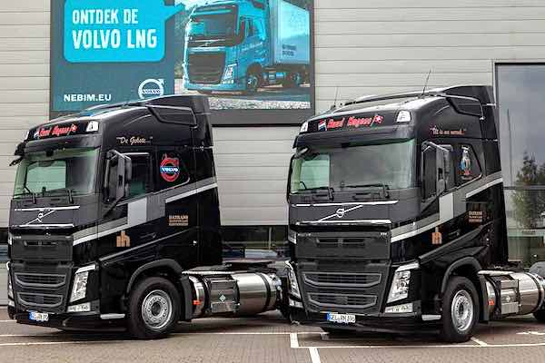 Datrans Chooses Volvo FH LNG Tractors for 24-hour