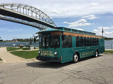 Blue Water Area Transit CNG Trolley